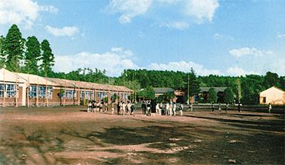 区内5校で記念式典