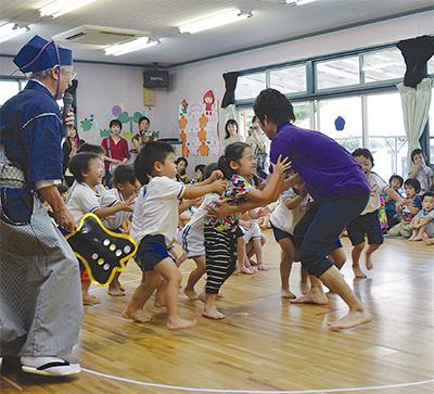 37年続く伝統相撲