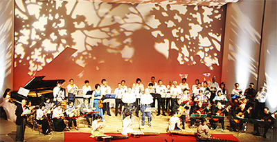 秋の風物詩、区民文化祭