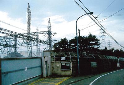 いずみ野駅から変電所北側を行く