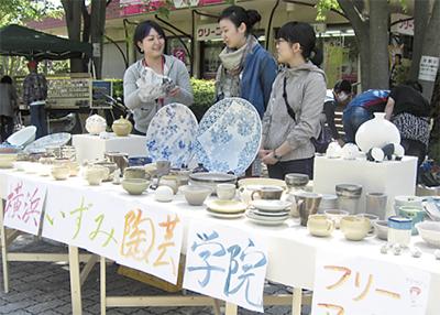 春恒例の陶芸まつり