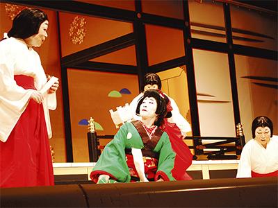 いずみ歌舞伎、盛大に