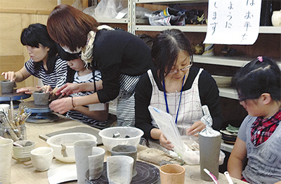緑園で陶芸まつり