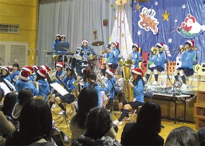 上飯田でコンサート
