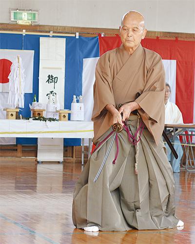 中田の隆盛を祈念