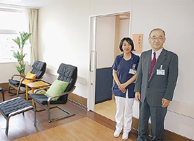 親善病院に緩和ケア病棟