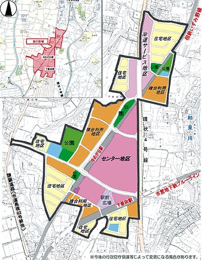 都市計画市素案を公表