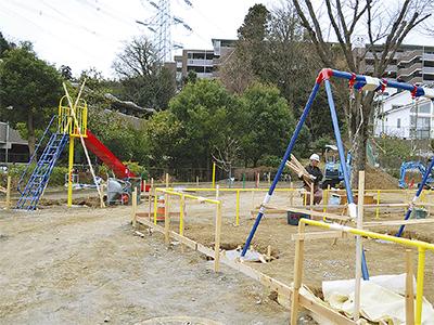 子どもの案で公園一新