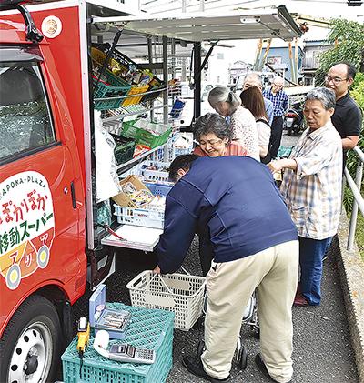 下和泉地域に移動販売車