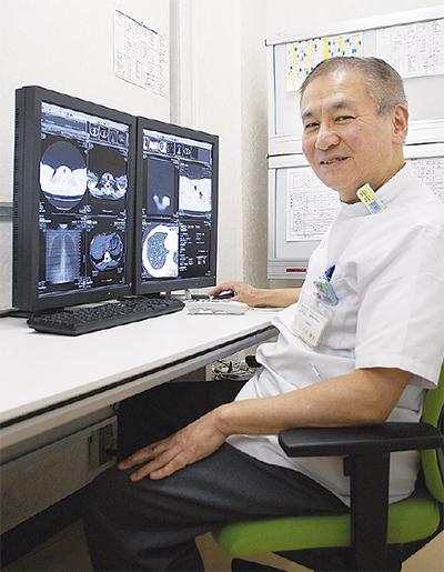 「低線量肺がんCT検診」で早期発見を