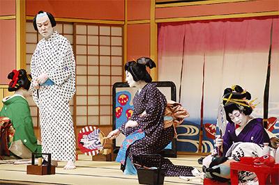 いずみ歌舞伎盛大に
