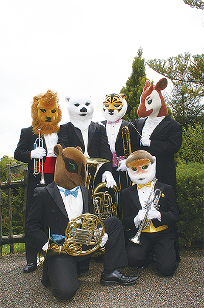 動物たちがコンサート