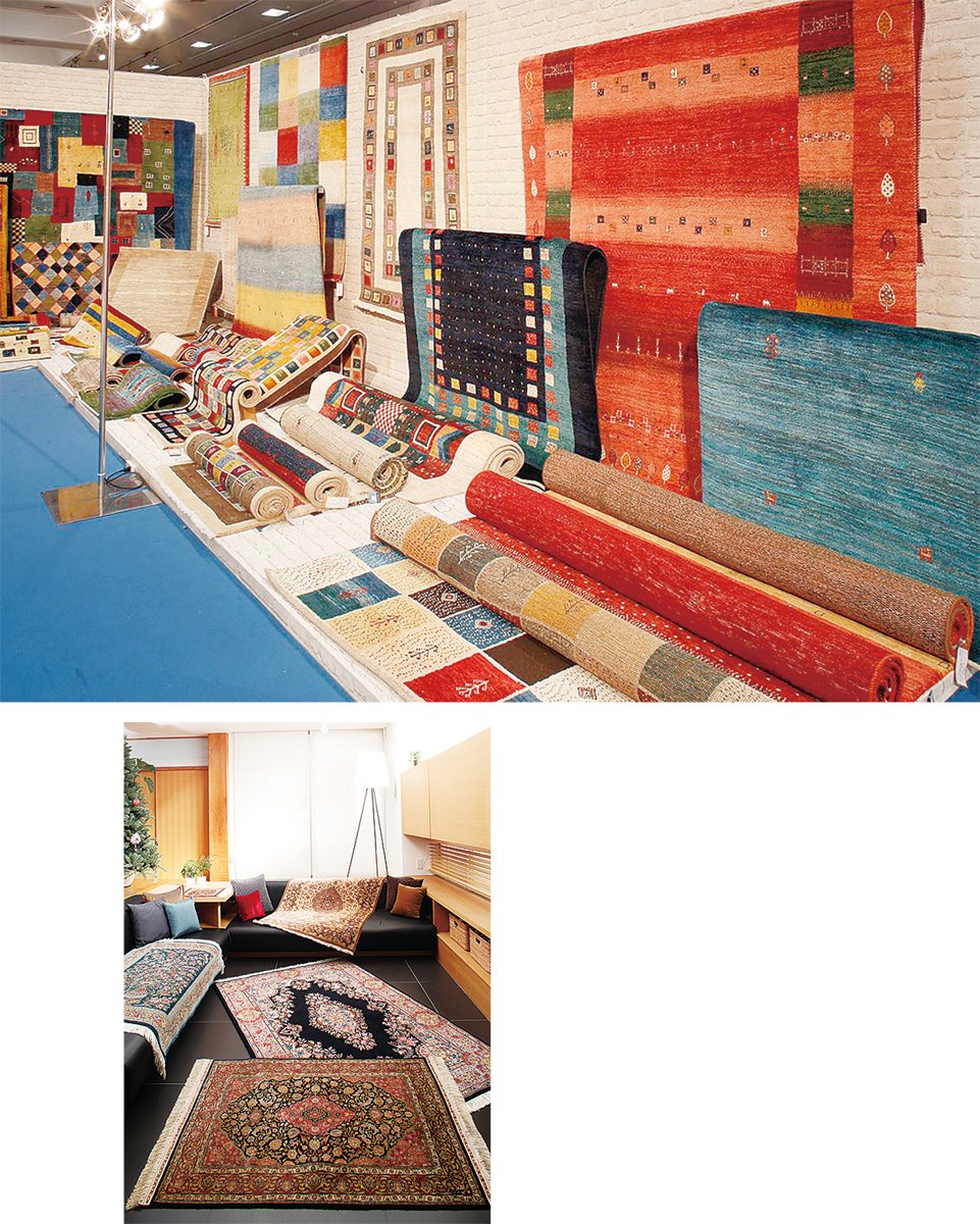 あす、9月28日から30日3日間限定「特選手織物絨毯展」