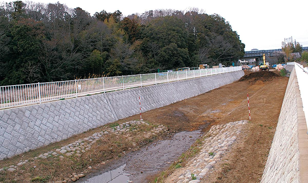 和泉川、全川通水へ