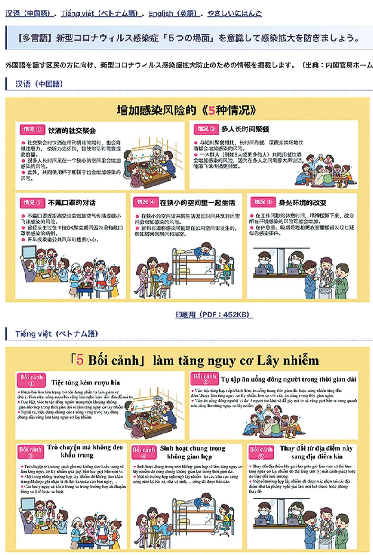 官房 ホームページ 内閣