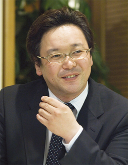 講演する舛田光洋さん
