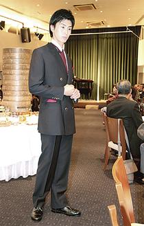 牧野さんのブレザースーツ