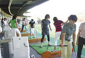 日本女子プロゴルフ協会所属の会員によるレッスン