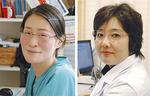 耳鼻咽喉科の久保田医師(右)と、小児科の成戸医師