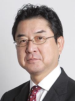 講演する松井宏夫氏