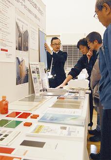 区内13の中小製造業者が技術を紹介