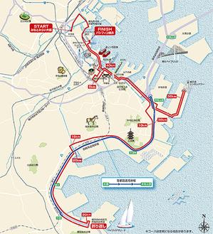 横浜マラソンコース(案)