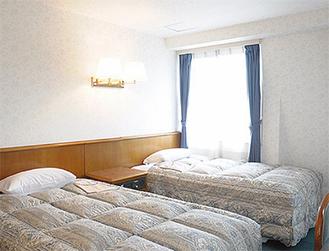 同ホテルの客室