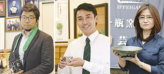 (左から)坂本さん、後藤さん、柴田さん