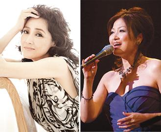 阿川泰子と平賀マリカが出演