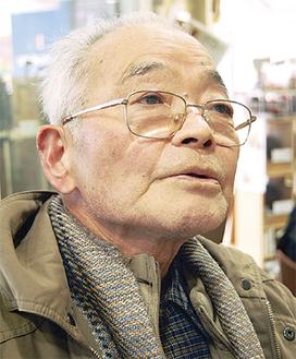 「戦争が始まっても恐怖はなかった」と阪間さん