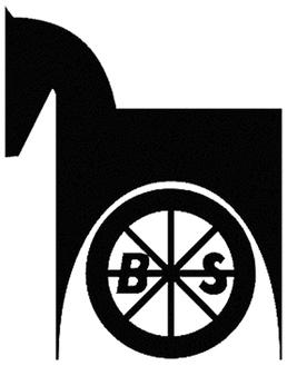 馬車道のシンボルになっている「BSマーク」