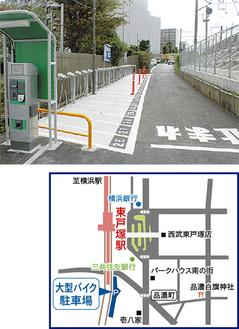 ↑駅に近く便利←32台駐車可の駐車場