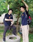 山口医師(左)と岡野医師