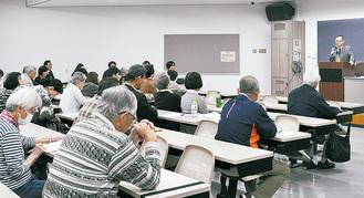 加山名誉教授による講演