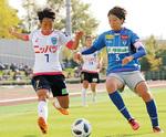 オリンピック出場経験をもつ山本選手(左・写真提供:ニッパツ横浜FCシーガルズ)
