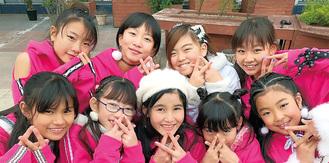 (左上から時計回りに)KARINさん、HIYOさん、SHOUTAさん、DJ KARENさん、HANNAさん、WACOさん、KARENさん、MIISHAさん、KAOさん