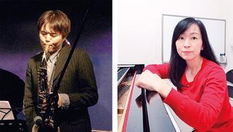 出演する平山さん(右)と池田さん
