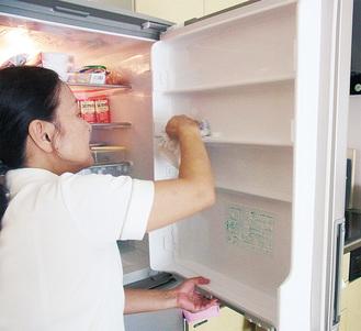 依頼があれば冷蔵庫の中も奇麗にしてくれる
