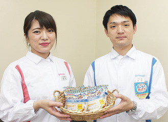 岸本さん(右)と尾川さん