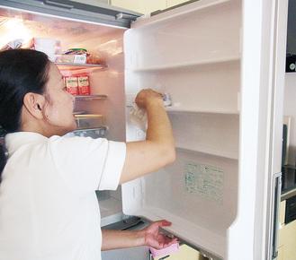 依頼があれば冷蔵庫の中まで奇麗にしてくれる