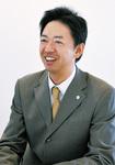 インタビューに応じる臼井謙介取締役。ウスイグループ7社の経営管理を担当している
