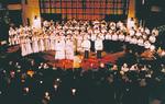 心あふれる歌声が響く同施設の音楽ホール