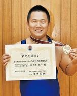 レスリング 全日本で優勝