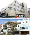 区民の健康を支える戸塚共立第1病院(上)と戸塚共立第2病院
