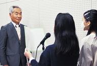石井さん(汲沢町)を表彰