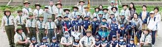 活動を続ける87団のメンバー