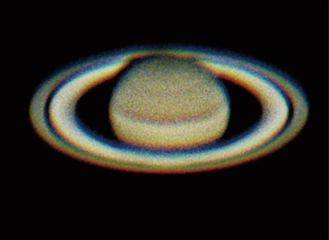 南さんが昨夏撮影した土星
