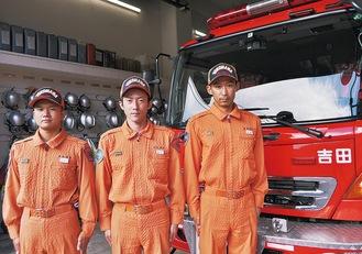 被災地で救助にあたった3人