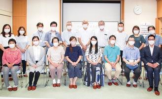 研究発表会に参加したメンバー