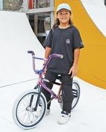 自転車競技の大会で活躍